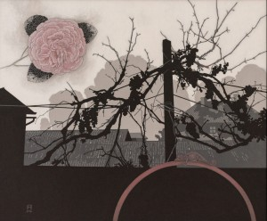 N. Ponomarenko  Vine and March cloud, 2017