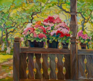 'A Flowering Porch', 2013