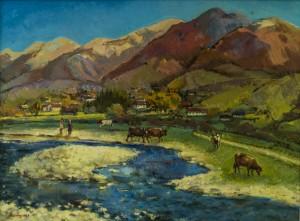 Kolochava Motif, 2011, oil on canvas, 60x80