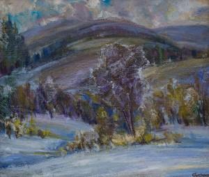 Сусла Михайло, Срібна зима