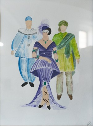 A Sketch Of Costumes