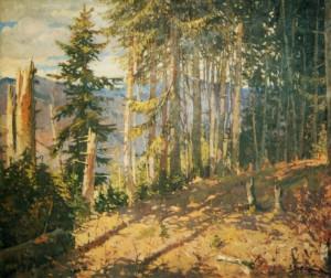 Ялинковий ліс, 1951, п.о.