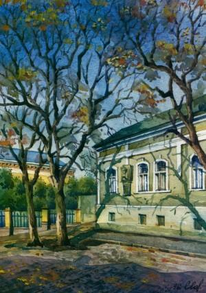 House in Kapitulna Street,11 1996 watercolour