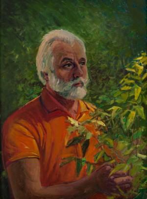 V. Brenzovych 'A Famous Biologist' (Portrait Of M. M. Babydorych), 2018