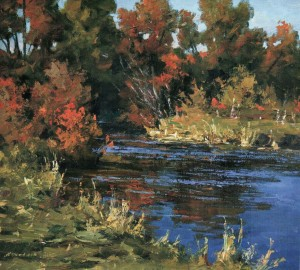 Autumn Landscape, 2005, oil on canvas, 70x96