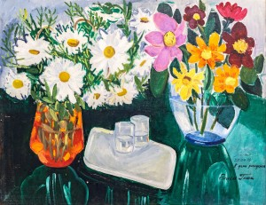 'Still Life With Daffodils', 1975