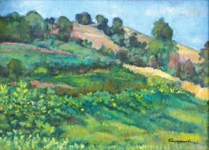 Літній краєвид, 2007, п.о. 52х70