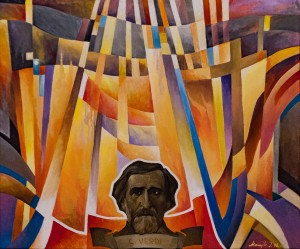 'Operas of Giuseppe Verdi', 2006, acrylic on canvas