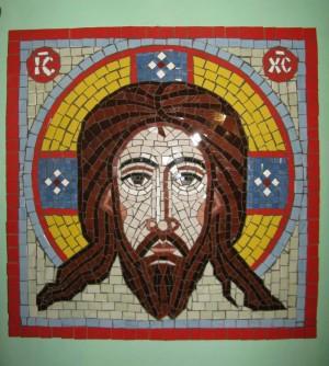 Спас нерукотворний.2011.мозаїка.50х50