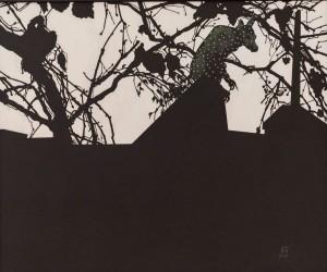 N. Ponomarenko  Autumn chameleon, 2016