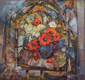 T. Sopilniak Still Life with poppies, 2017