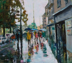 Sypniak P. Lviv rain  90x80, c.о. 2016