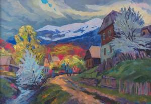 V. Vovchok 'Spring On Verkhovyna'