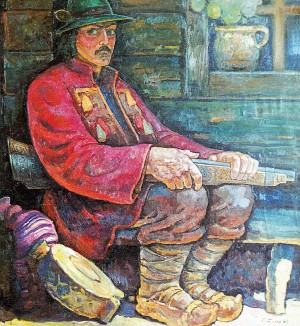 Opryshok, 1987, oil on canvas, 130х120