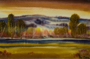 M. Peter. Autumn Twilight