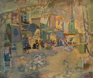 "V. Beretski. Diptuch ""Mosaic of time"""