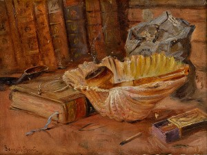 Still Life of A Bibliophile