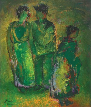 Date, 2006, oil on canvas, 70x60