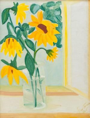 'Натюрморт з соняшниками', 1965
