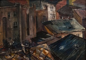 Landscape With Roofs', 1988