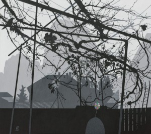 N. Ponomarenko Landscape with chimera, 2015