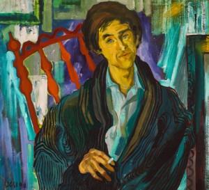 F. Seman, Portrait of V.Degtiarov, 1990
