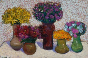 Сипняк П. Осінні квіти 60x90, п.о  2016