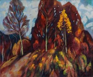V. Vovchok Sunny Autumn'