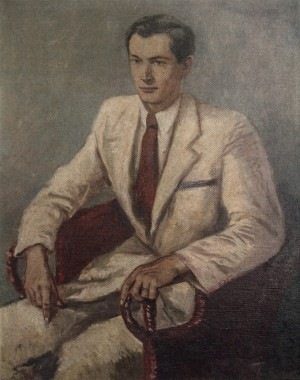 Mans Portrait, 1940s, oil on canvas, 98x77