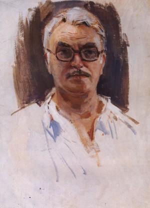 Автопортрет, 1969, к.о. 70х50