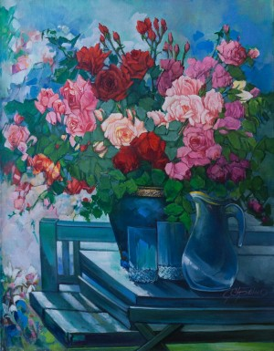 H. Hrenko 'Roses And The Sun'