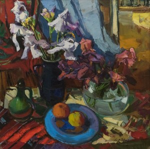 A. Kovach Still life with irises, 2010