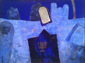 Relic, 2005, oil on cardboard