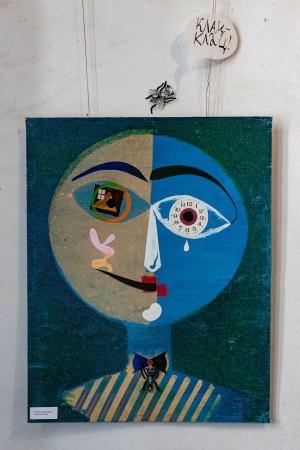 N. Nadzhafova 'Portrait Of Klee'
