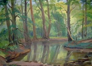 Summer Landscape, oil on canvas, 60х82