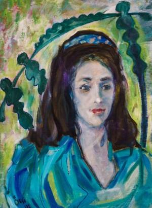 Семан Ф. Портрет дівчини, 1992