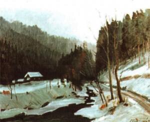 Перед снігопадом, 1988, 60х70