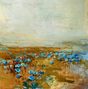 Field. Poppies, 2005, oil on canvas, 150x150