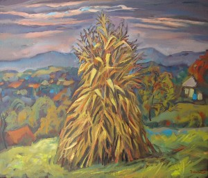 A Sheaf Of Hay, 60x70