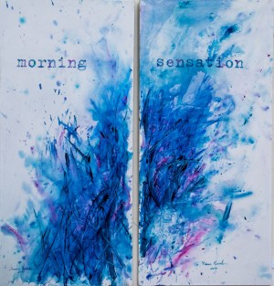 I. Voitovych. Morning Sensation. (diptych), 2017