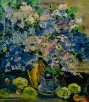 'Spring Bouquet', 2017, 70x80