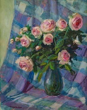 V. Brenzovych 'Royal Roses', 2017