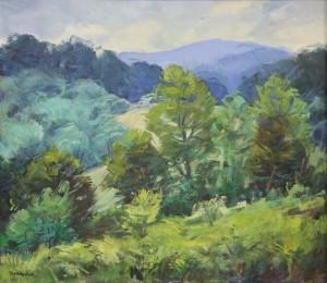 Зелені Карпати, 2009, п.о., 71х80