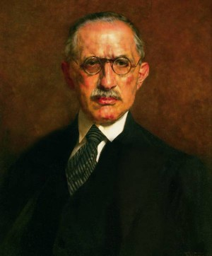 Doctor Pal Von Golichcher, 1933, oil on wood, 60x50