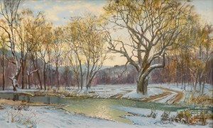 A. Landovska The First Snow'