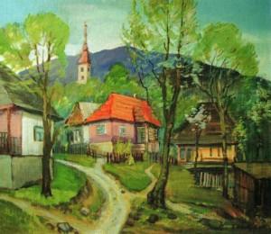 Село Мочар, 1993, 70х80
