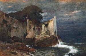 Ruins Near The Coast