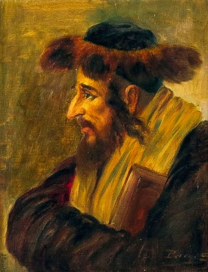Košice Rabbi, 1910