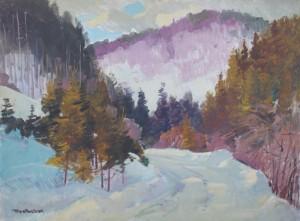 Зимове тепло, 2015, к.о., 60х80