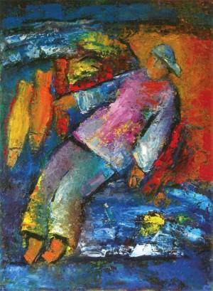 Рибалка, 2011, п.о., 100х70